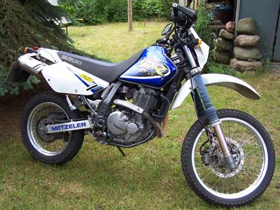 Suzuki DR650SE Super Moto Umbau
