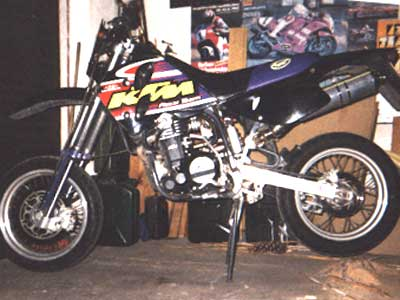 KTM LC4 620 Enduro Umbau